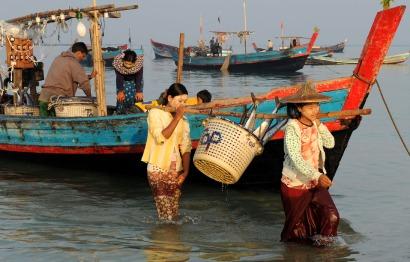 wioska rybacka - Birma (17)