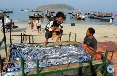 wioska rybacka - Birma (18)