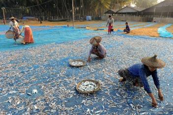 wioska rybacka - Birma (3)