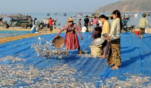 wioska rybacka - Birma (6)