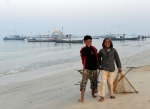 wioska rybacka –Birma