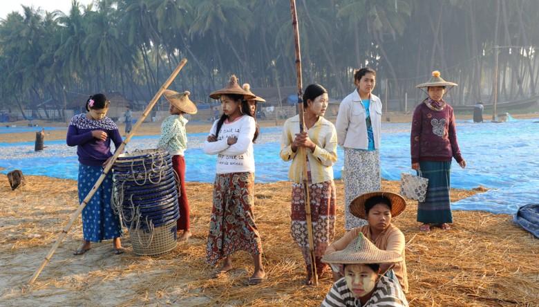 wsioska rybacka - Birma (6)