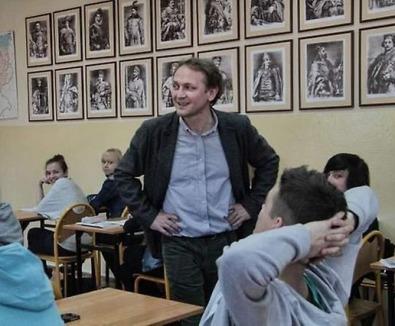 Nauczyciela walka z ciemnością (