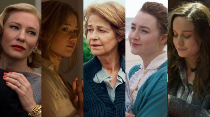 Cate Blanchette, Jennifer Lawrence, Charlotte Rampling, Saoirse Ronan, Brie Larson
