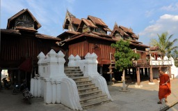 Klasztor Shwe Yan Pyay - Birma; fot. Stanisław Błaszczyna (15)