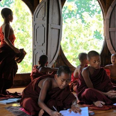 Klasztor Shwe Yan Pyay - Birma; fot. Stanisław Błaszczyna (2)