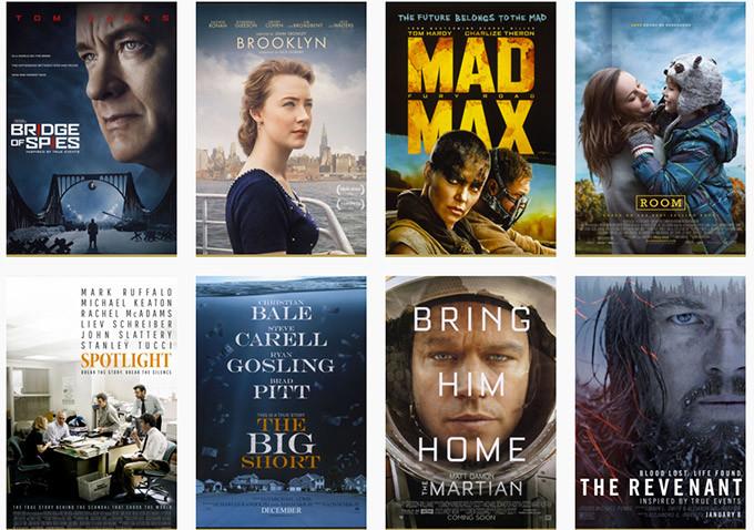 Filmy nominowane do Oscara w kategorii Najlepszy Film