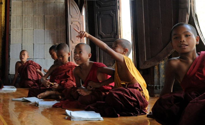 Shwe Yan Pyay Monastery - Birma, fot. Stanisław Błaszczyna (4)