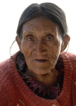 Seniorka z Chichicastenango (GWATEMALA)