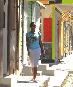 W karaibskim miasteczku Roseau (DOMINIKA)