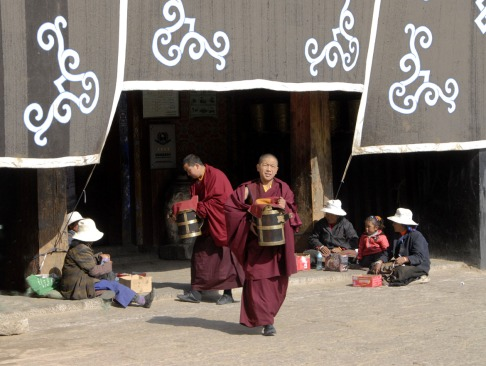 Klasztor Samje - Tybet (10)