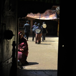 Klasztor Samje - Tybet (16)