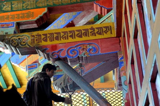 Klasztor Samje - Tybet (21)