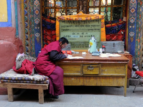 Klasztor Samje - Tybet (24)