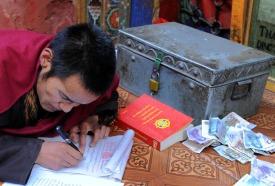 Klasztor Samje - Tybet (25)