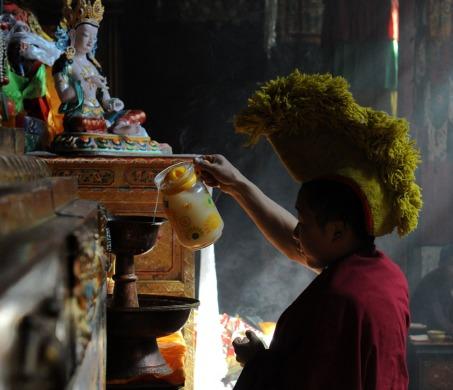 Klasztor Samje - Tybet (33)