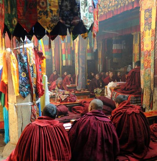 Klasztor Samje - Tybet (37)a