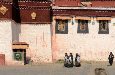 Klasztor Samje - Tybet (9)