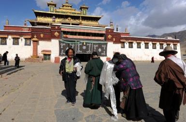Klasztor Samje - Tybet (9)a
