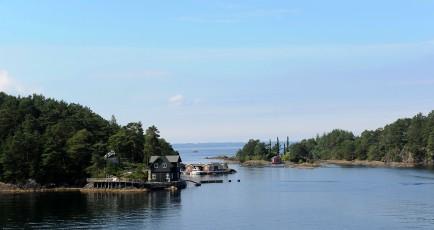 nabrzeże Morza Północnego - okolice Stavanger