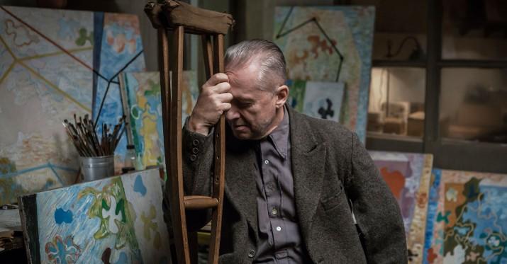 Cena uprawiania sztuki jest wysoka (Bogusław Linda jako Władysław Strzemiński w filmie Andrzeja Wajdy