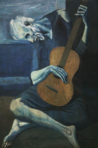 Pablo Picasso, Stary gitarzysta)