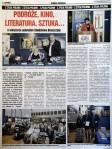 Blaszczyna Stanislaw – Spotkanie aitoreskie – artykul w Kurierze Chicagowskim –s.1