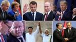 Johnson, Merkel, Macron, Putin, Trump, Morawiecki, Kaczynski, Xi, Modi, Orban,Erdogan