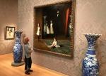 Przed obrazem Sargenta – The Museum of Fine Arts w Bostonie(Massachusetts)