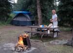 Z namiotem w Denali NP(Alaska)