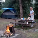 Z namiotem w Denali NP (Alaska)