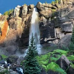 Bridal Veil Falls - Telluride (Kolorado