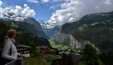 Dolina Lauterbrunnen (Szwajcaria)